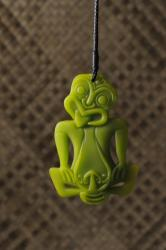 tiki single green
