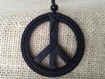 pacific peace pendant black